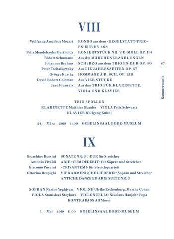 Staatskapelle Berlin: Konzertvorschau 2018/19