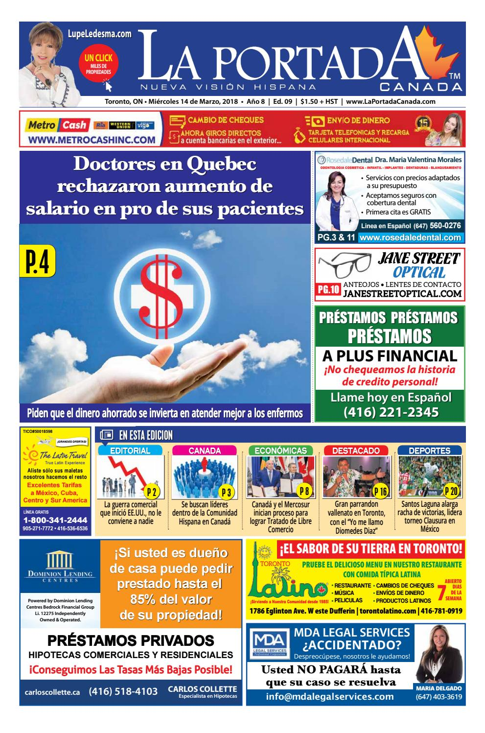 74a2e6dab1 2018 09 laportada 14 march 2018 by Comercio Latino - issuu