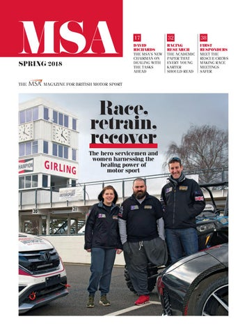 MSA Magazine, Spring 2018 by Motorsport UK - issuu