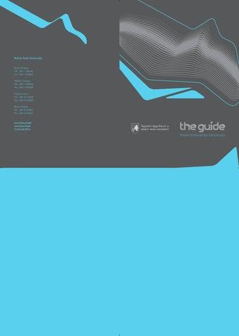 Bau and Faculties Guide by BAUWebsiteOffice - issuu
