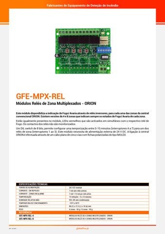 83028c74c GFE Catálogo 2018 by Global Fire Equipment S.A. - issuu