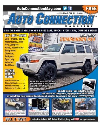 582569c603 03-22-18 Auto Connection Magazine by Auto Connection Magazine - issuu