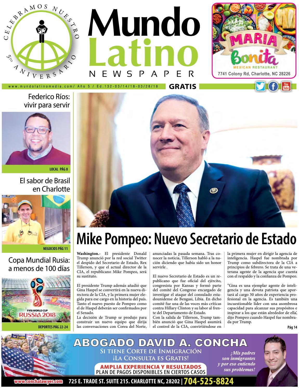 Ml 132 fb by MundoLatinoNewspaper - issuu