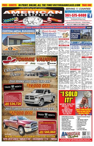 Victoria american classifieds march 15 by american classifieds vtx page 1 fandeluxe Choice Image