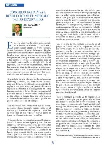 """Page 6 of Vehículos eléctricos, o el debate que se viene"""""""