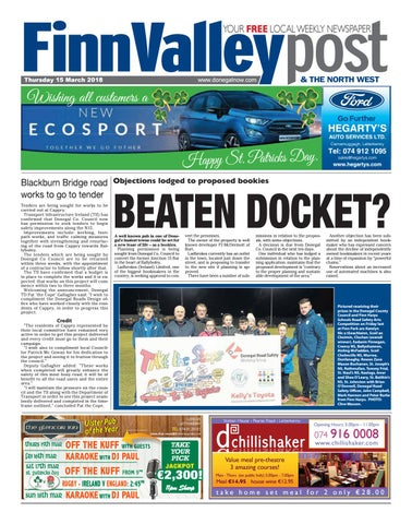 5322c56eba Finn valley post 15 03 2018 by River Media Newspapers - issuu
