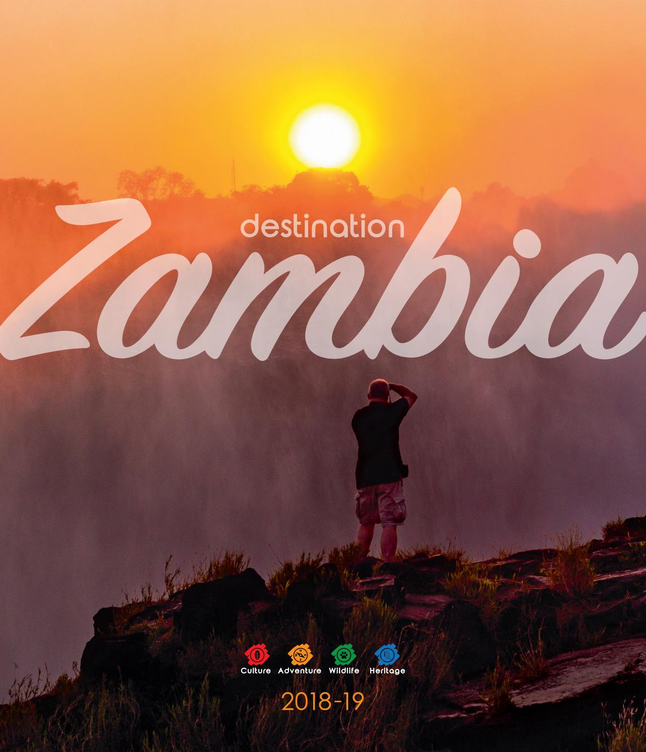 Lusaka Co Zm: Destination Zambia 2018 By Land & Marine Publications Ltd