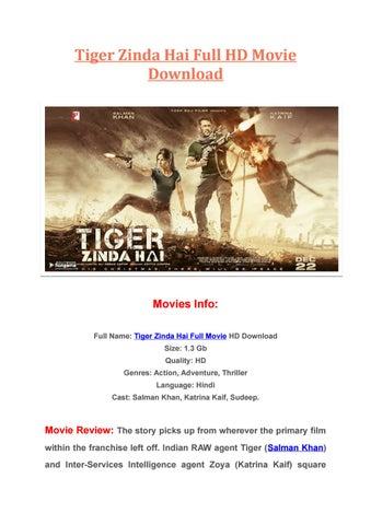 hindi film hd tiger zinda hai download