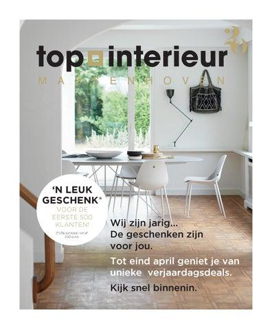 Verjaardagsbrochure Top Interieur Massenhoven by Topinterieur - issuu
