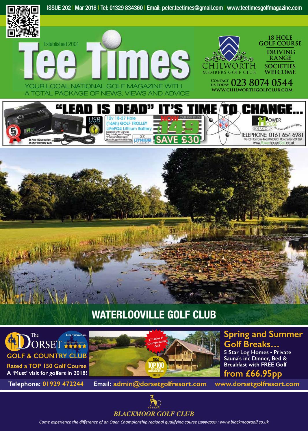 Tee Times Golf Magazine, March 2018 by Tee Times Golf