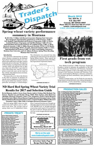 223fde561ea724 March 2018 pages by The Trader s Dispatch - issuu