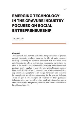 Page 109 of Emerging Technology in the Gravure Industry Focused on Social Entrepreneurship