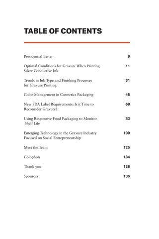 Page 7 of Table of Contents