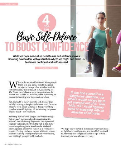 Page 46 of Basic Self-Defense to Boost Confidence
