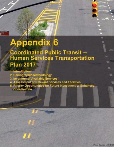 NYMTC's Coordinated Public Transit-Human Services Transportation Plan