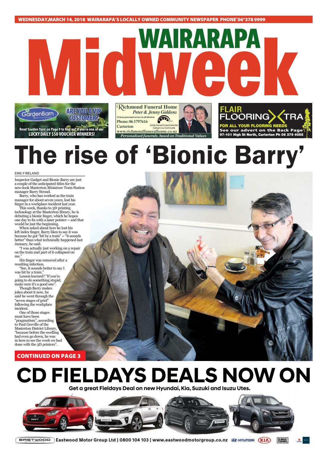 3d4532c4cfc Wairarapa Midweek Wed 14th March by Wairarapa Times-Age - issuu