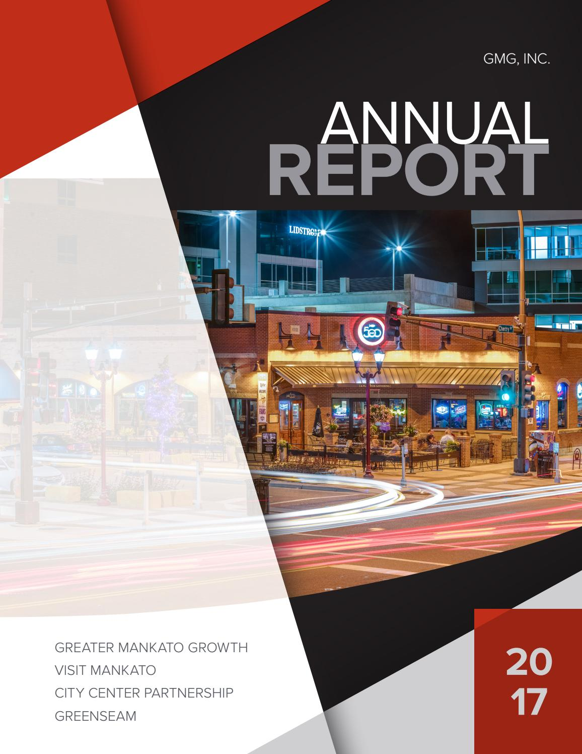 2017 GMG, Inc  Annual Report by Greater Mankato Growth - issuu