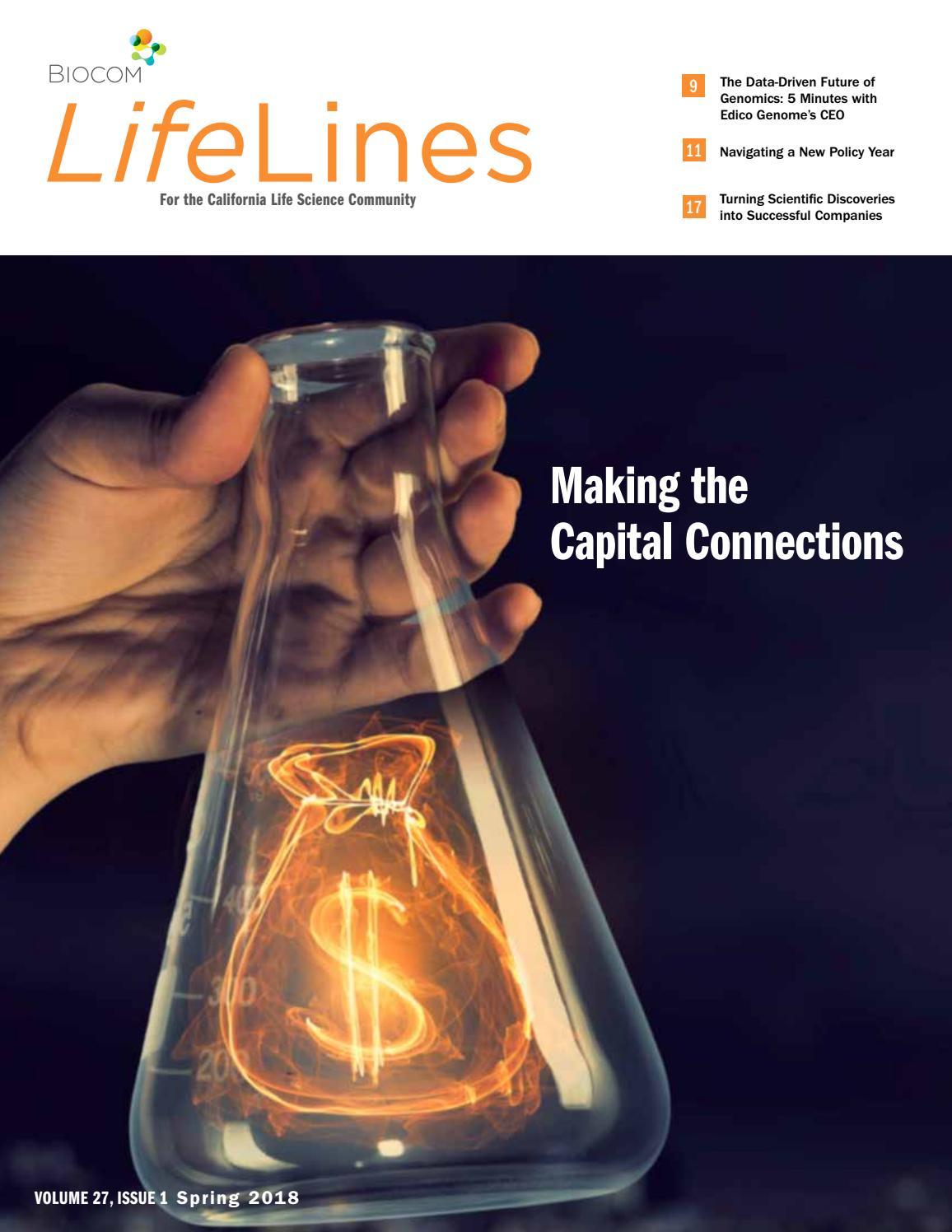 Biocom LifeLines - Spring 2018 by Biocom - issuu