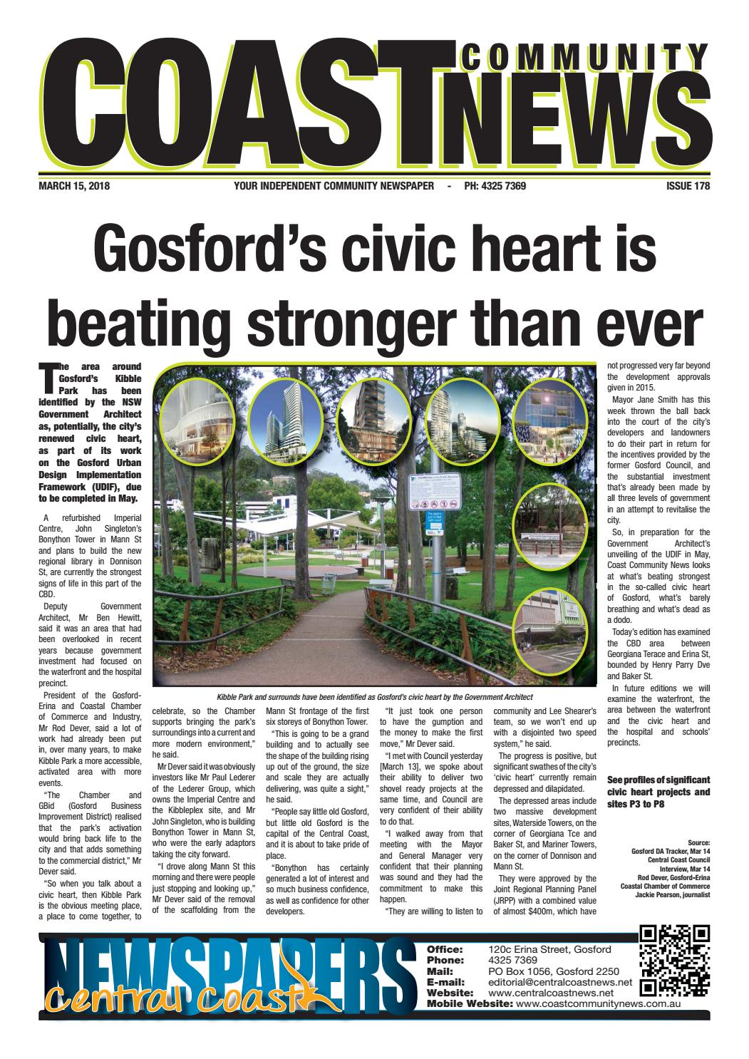 Issue 178 Of Coast Community News By Central Coast Newspapers Issuu