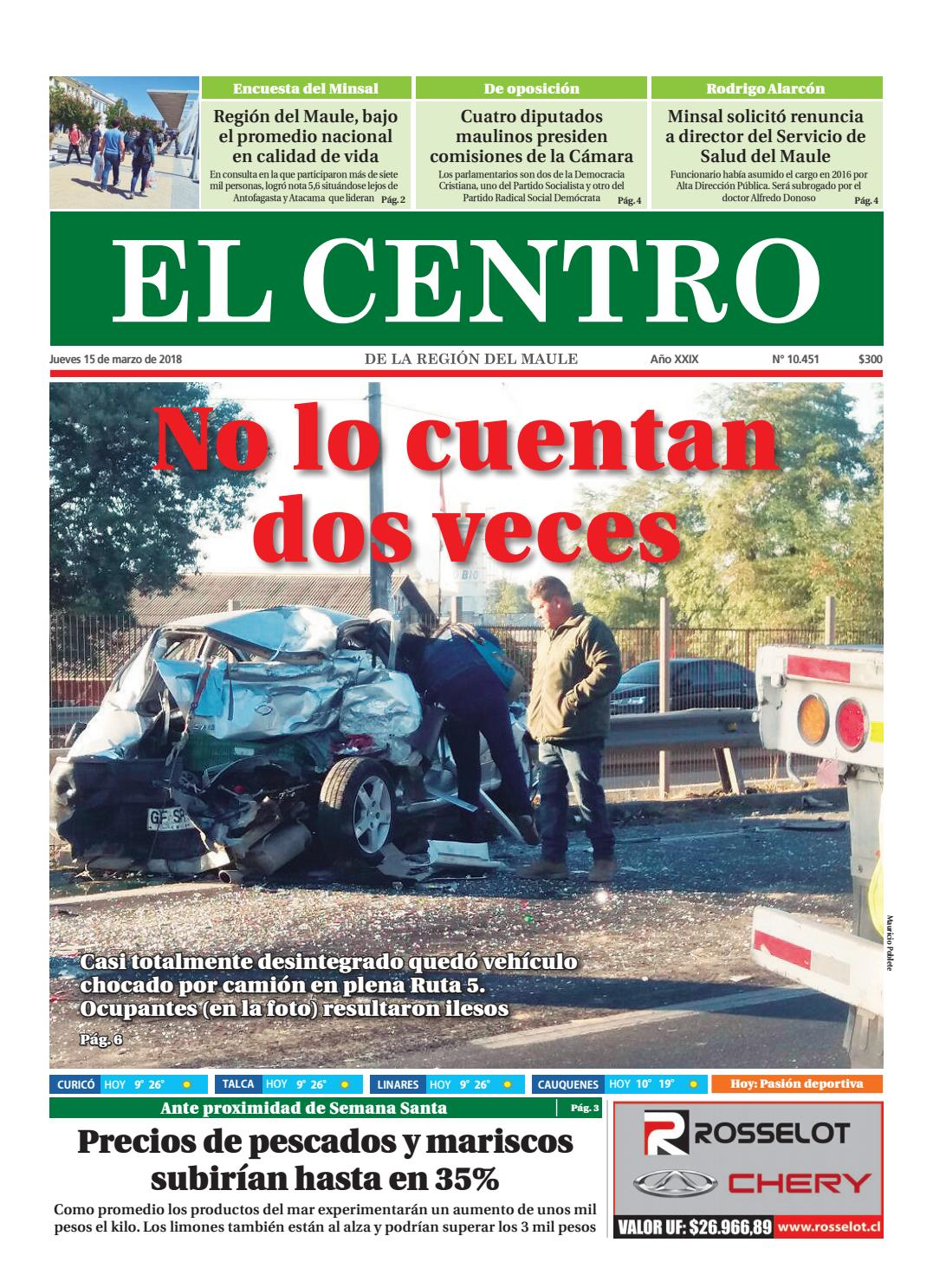 Diario 15 03 2018 by Diario El Centro S.A - issuu