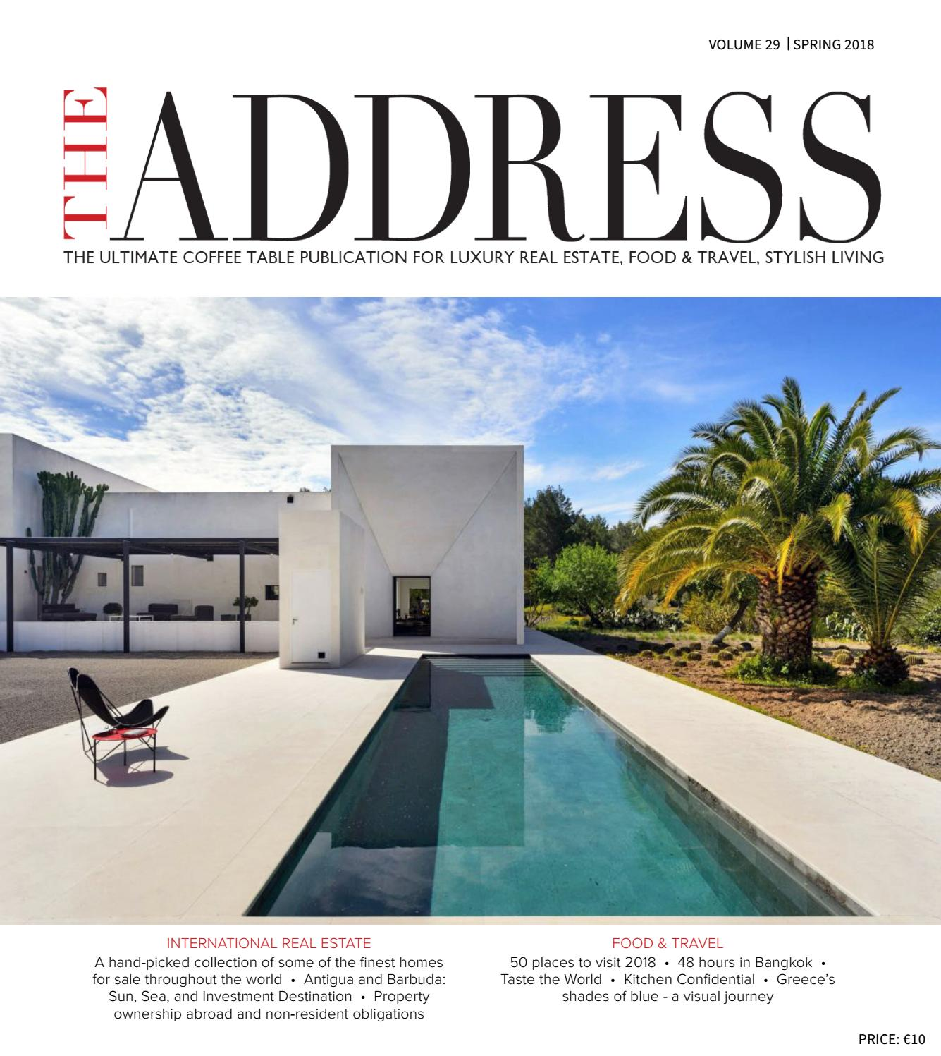 THE ADDRESS Magazine Volume 29 By Select International CB