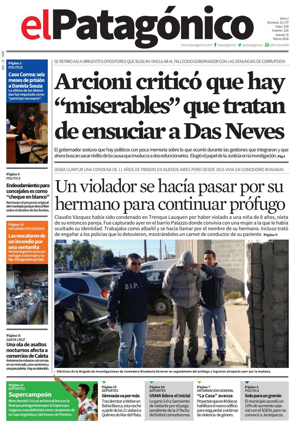 edicion235014032018.pdf by El Patagonico - issuu
