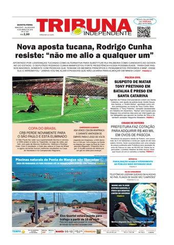 Edição número 3103 - 15 de março de 2018 by Tribuna Hoje - issuu 04e9c891a7497
