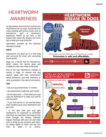 Page 27 of Heartworm awareness