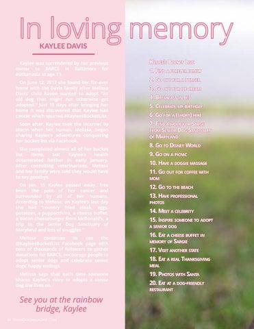 Page 30 of In loving memory of Kaylee Davis