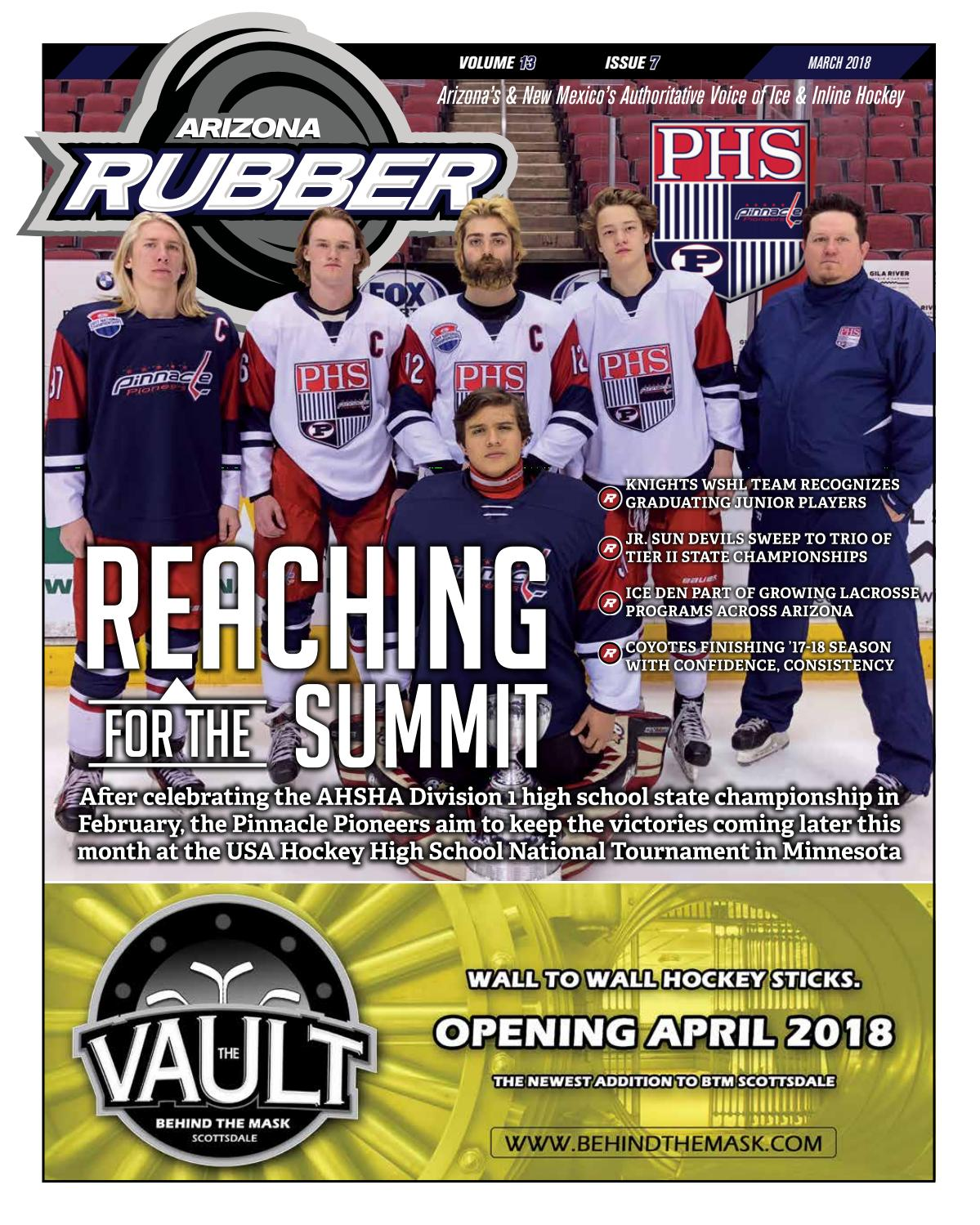 Arizona Rubber Magazine - March 2018 by Rubber Hockey Magazines - issuu cb8a6015f