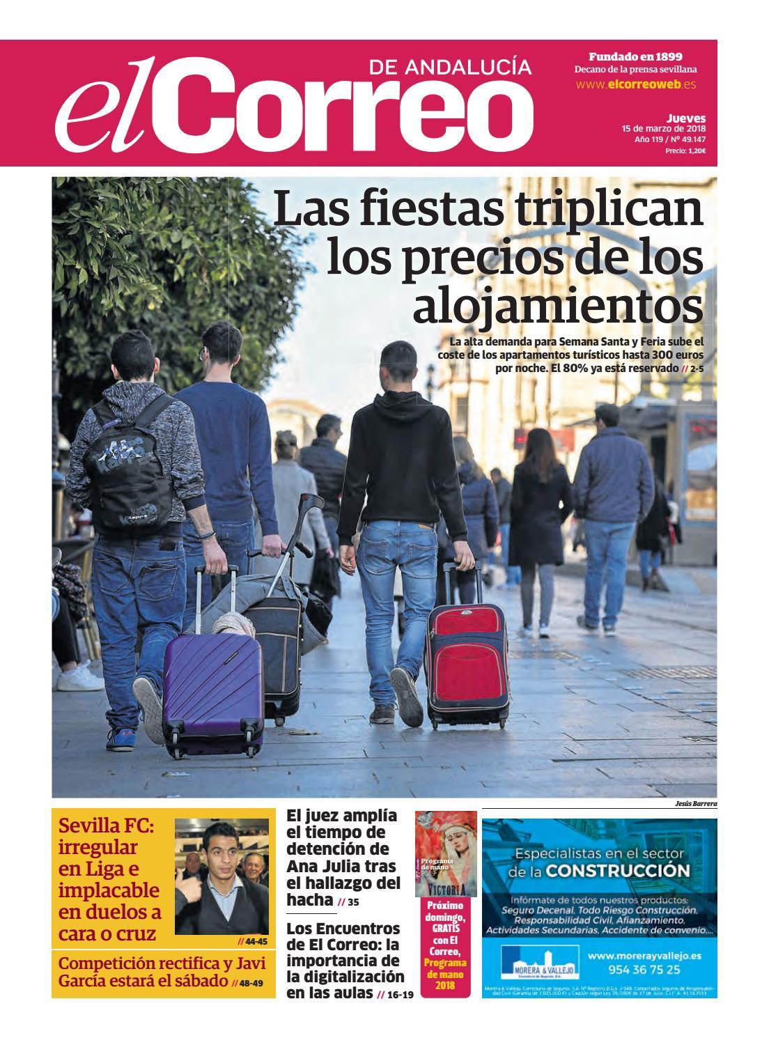 half off d9200 293b9 15.03.2018 El Correo de Andalucía by EL CORREO DE ANDALUCÍA S.L. - issuu