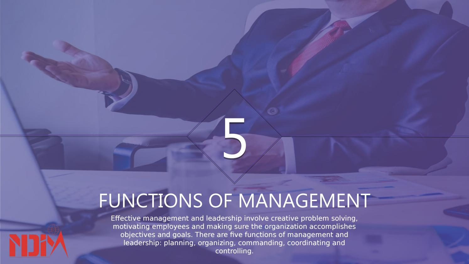 Function of management by New Delhi Institute of Management