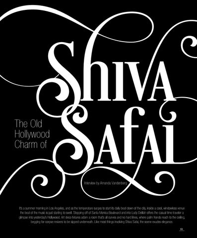 Page 83 of The Old Hollywood Charm of Shiva Safai