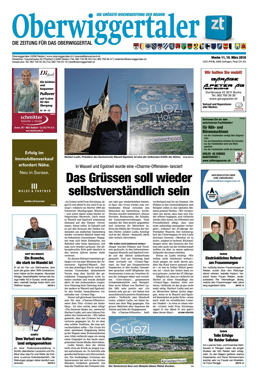 b4db250ef04958 Oberwiggertaler 11 18 by ZT Medien AG - issuu