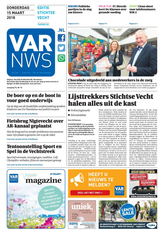 4324f4259f2 VARnws Stichtse Vecht 15 maart 2018 by VARnws - issuu