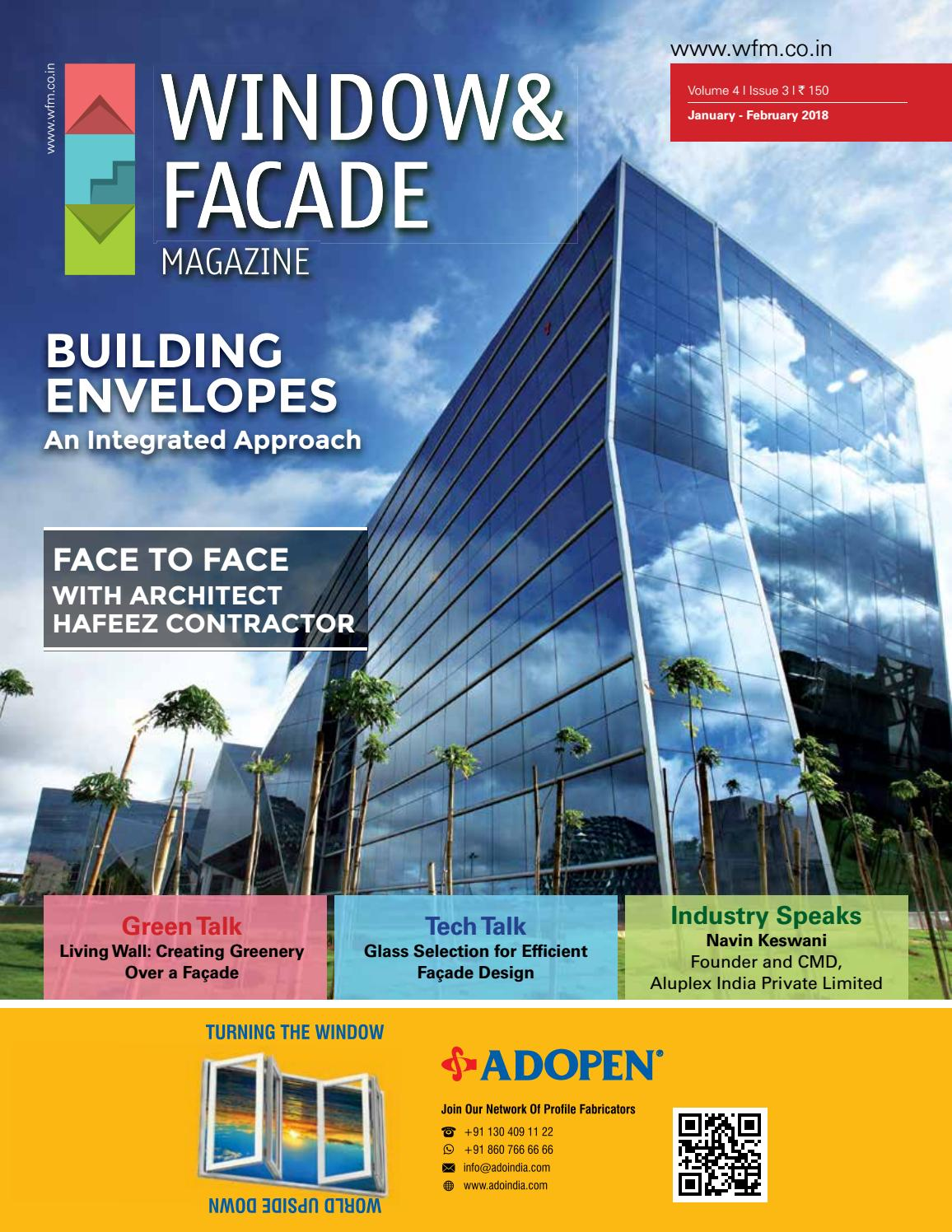 Window Amp Facade Magazine January February 2018 Issue By