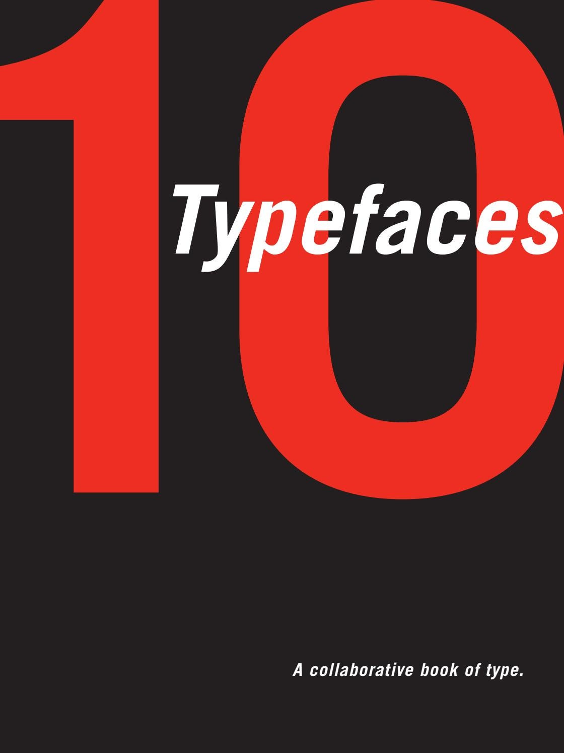 10 Typefaces by Kendra Oliver - issuu