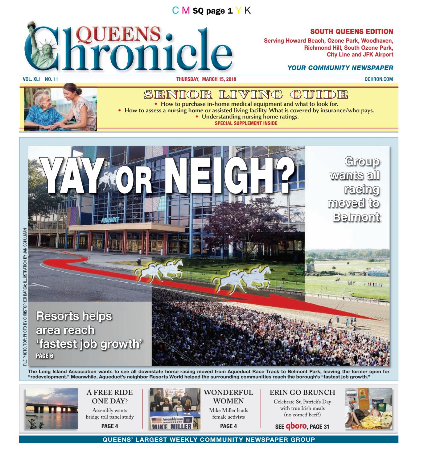 5606c5ecc06 Queens Chronicle South Edition 03-15-18 by Queens Chronicle - issuu