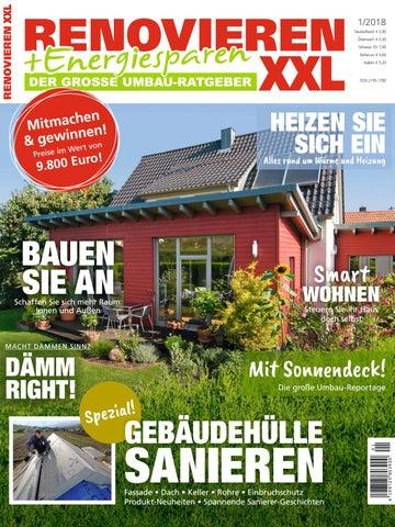 Renovieren U0026 Energiesparen 1/2018 By Family Home Verlag GmbH   Issuu