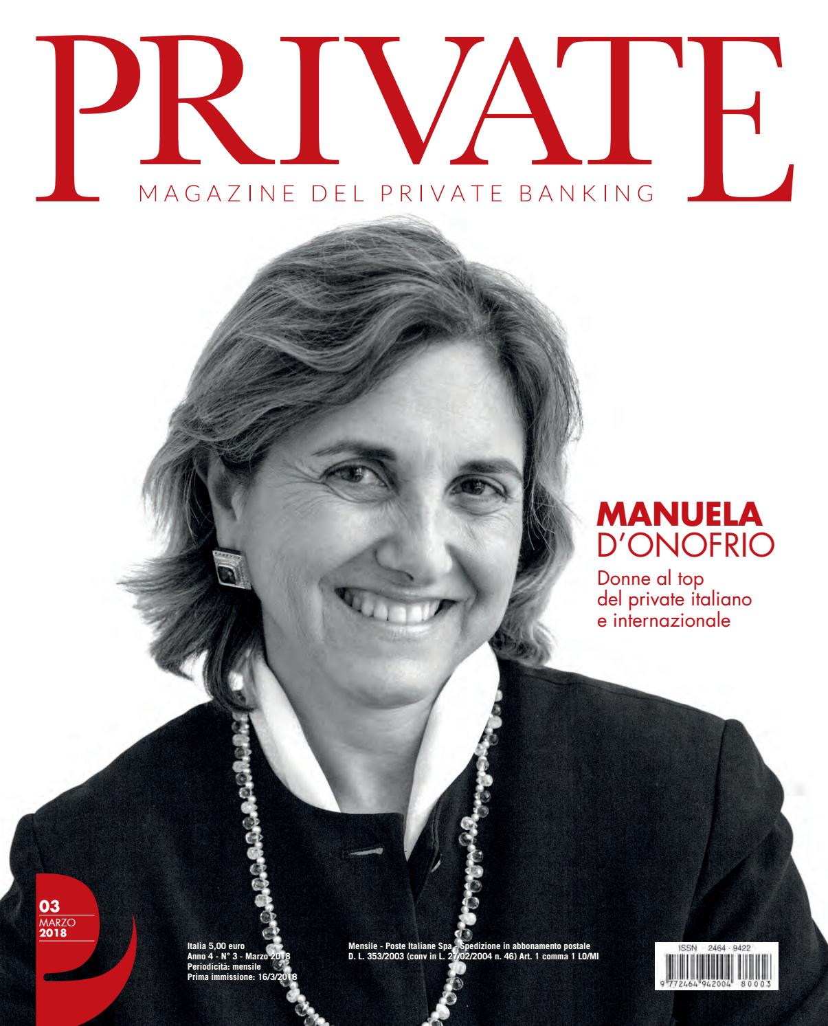 PRIVATE 03 - MANUELA D ONOFRIO by Blue Financial Communication - issuu 3b4f9346f0c7