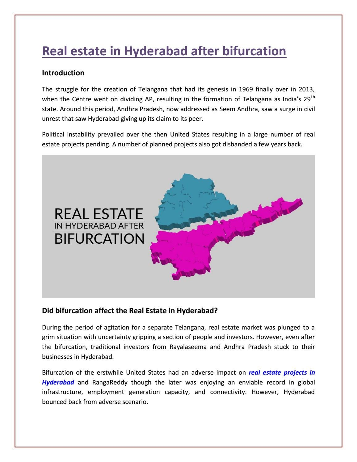 real estate investment in andhra pradesh states