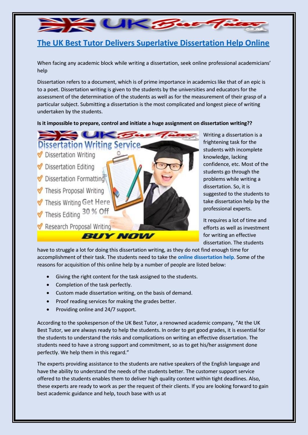 The Risk of Online Dissertation Companies