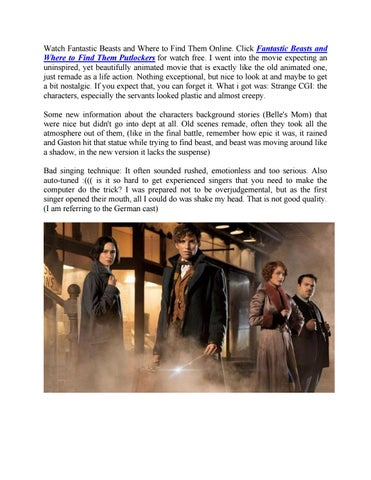 watch fantastic beasts and where to find them online by ebook 4u issuu