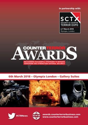 Counter Terror Awards Handbook 2018