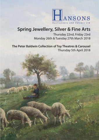 f99765e8b572e Spring Jewellery, Silver & Fine Arts Thursday 22nd, Friday 23rd Monday 26th  & Tuesday 27th March 2018 The Peter Baldwin Collection of Toy Theatres ...