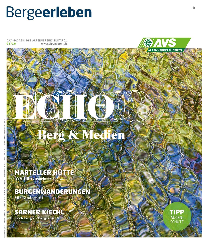 Bergeerleben AVS Magazin März 2018 by Alpenverein Südtirol