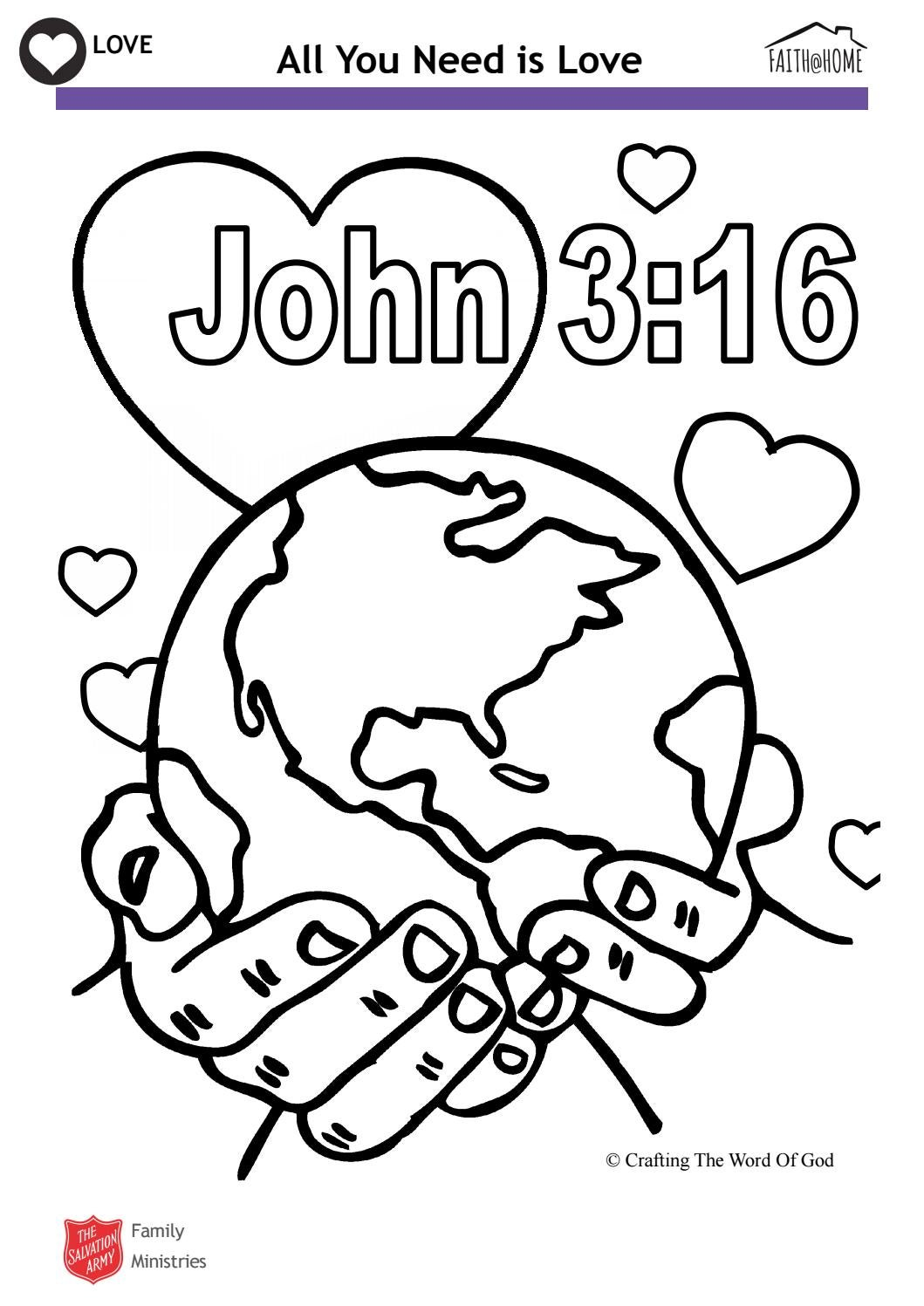 love john 3 16 bible colouring activity faith home by the salvation army uk territory with the republic of ireland issuu love john 3 16 bible colouring