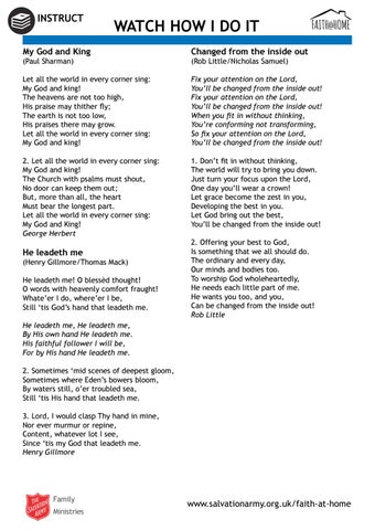 He can do it song lyrics