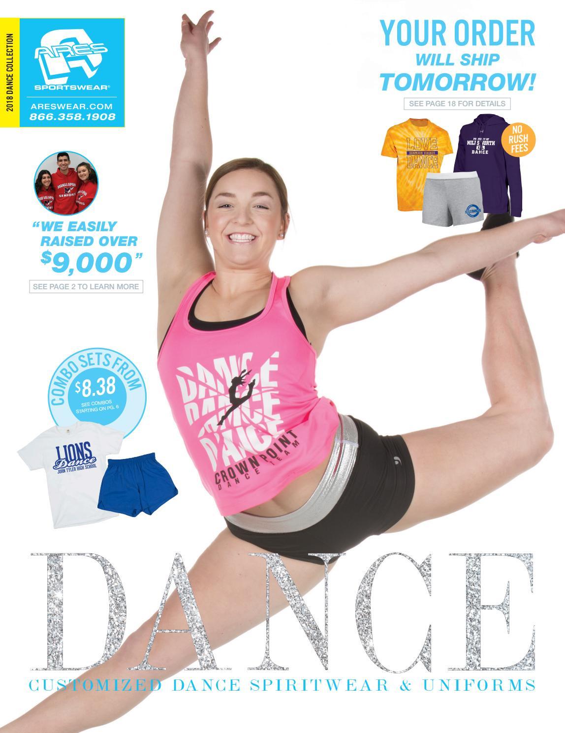 size 40 d2f28 0cb9b 2018 Ares Sportswear Dance Catalog