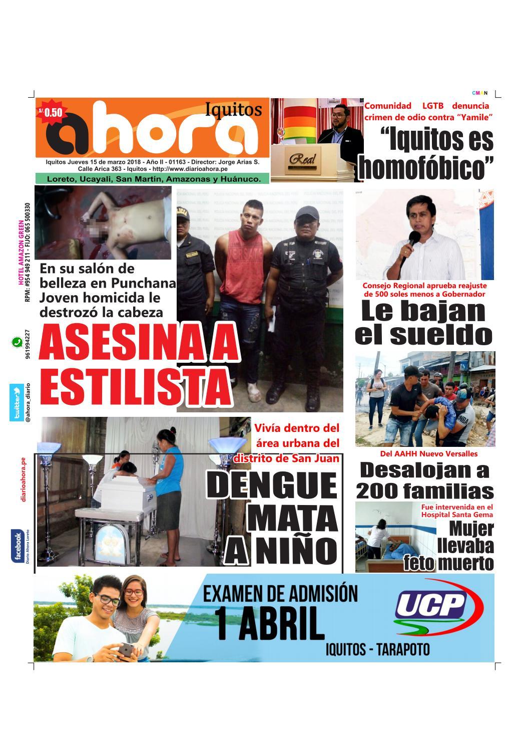Iquitos 15 de marzo del 2018 by Jonatan Arias - issuu